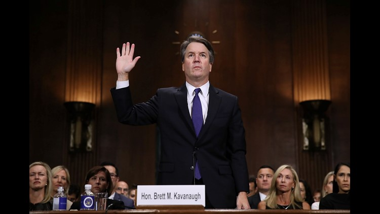 Senate votes on confirmation of Brett Kavanaugh