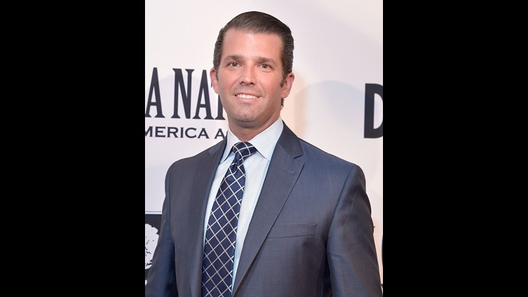 Donald Trump Jr. shared pictures of his weekend jaunt to Louisiana, which included a gator hunt and a deep dive into some seriously murky swamp water.