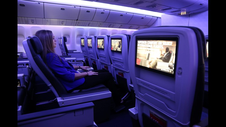 Delta Air Lines expects $350 million this year from premium seating, including Premium Select that is being added to all widebody flights to Europe.