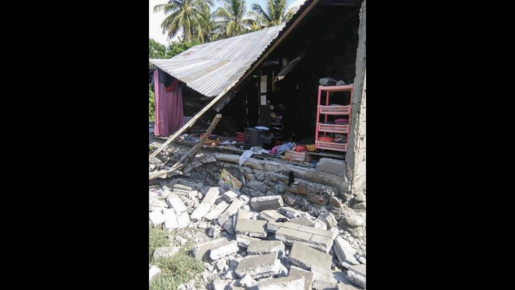 Magnitude Quake Strikes Indonesia