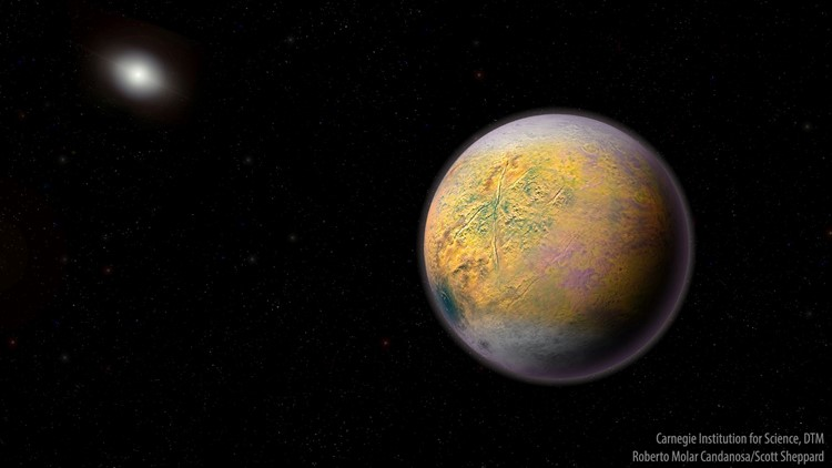 Scrawny dwarf planet named Goblin found well beyond Pluto