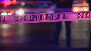 A man was killed in a crash. A woman was found stabbed in his home hours later.