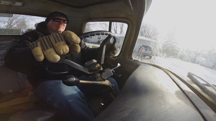 """""""It just becomes a part of you,"""" Bob Sportel says of his truck."""