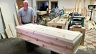 Former priest makes affordable caskets his ministry