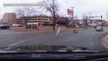 Charges filed after toddler in car seat tumbles out of moving vehicle