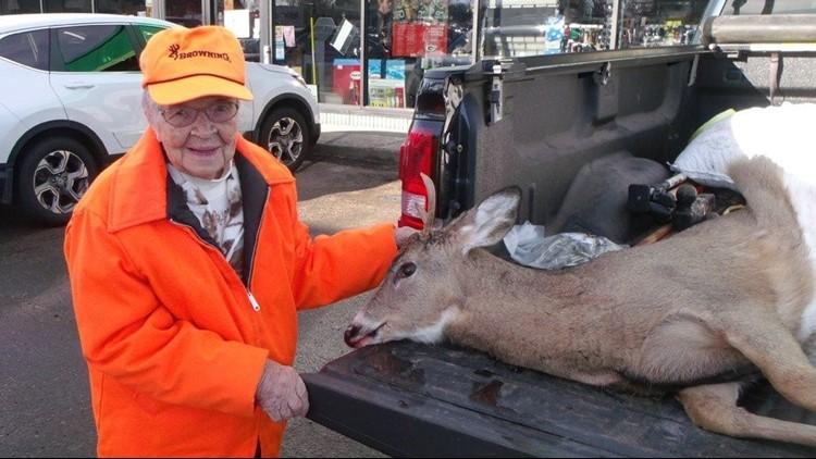 Florence Teeter hunting 2