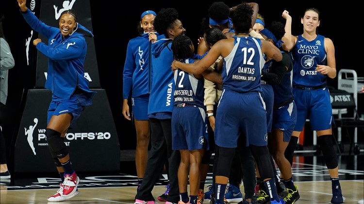 WNBA postpones Minnesota Lynx, Seattle Storm playoff game due to COVID-19