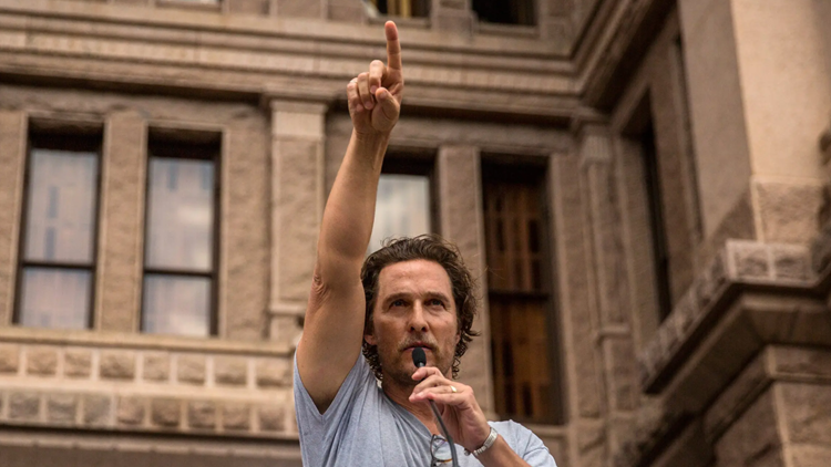 Matthew McConaughey leads Greg Abbott for Texas governor, according to a new poll