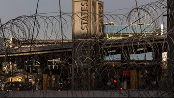 Will troops deployed to the border get to spend the holidays back home?