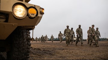 More than 2,300 troops remain deployed at the southwest border