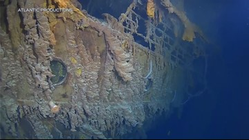 First voyage to Titanic in 15 years shows wreck's rapid decay