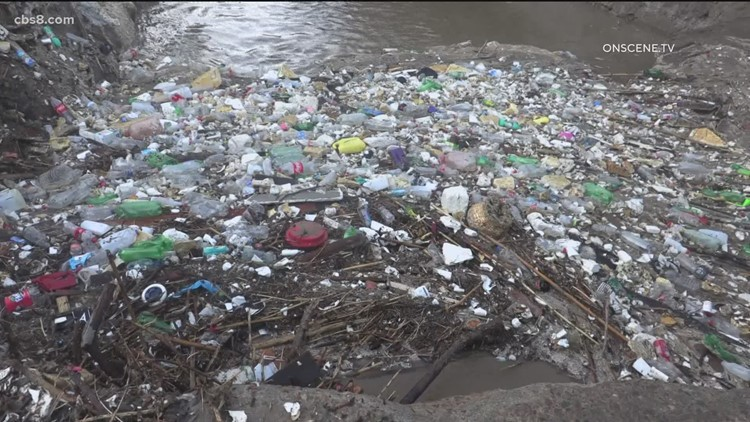 California's recent rain brought with it a lot of runoff and trash from South of the border