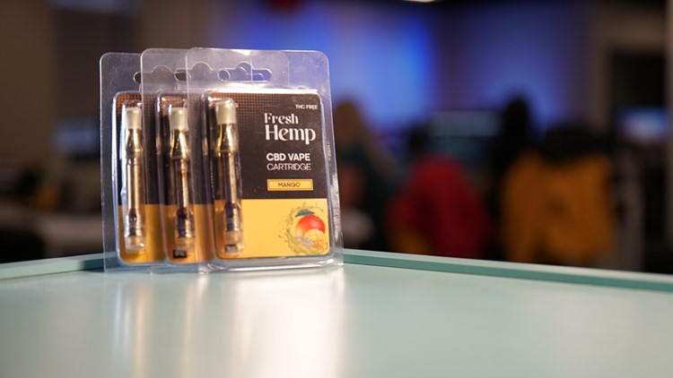 "The ""Fresh Hemp"" CBD cartridge had no CBD and tested positive for lead."