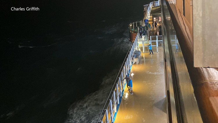 Coast Guard searching for man who fell from cruise ship in the Gulf