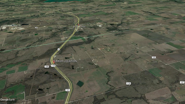 Riesel Crash Map