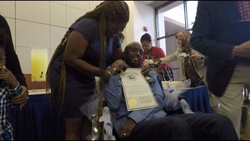 Houston man with terminal brain cancer marries sweetheart