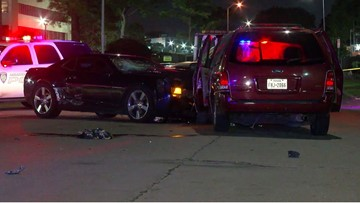 Man trying to save wife from carjacker may lose his legs after getting pinned between vehicles