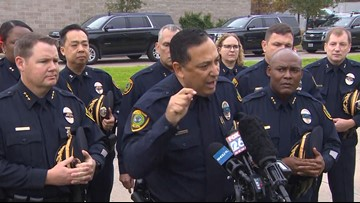 'Whose side are you on?' | After murder of Houston officer, police chief blasts senators and the NRA