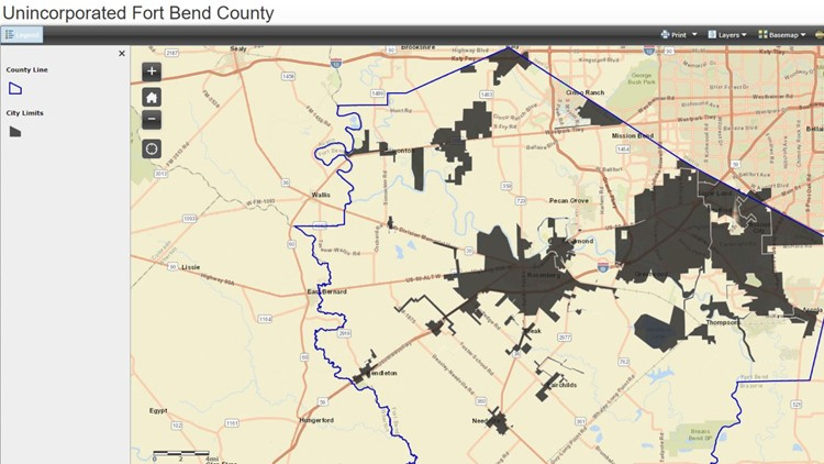 unincorporated Fort Bend County