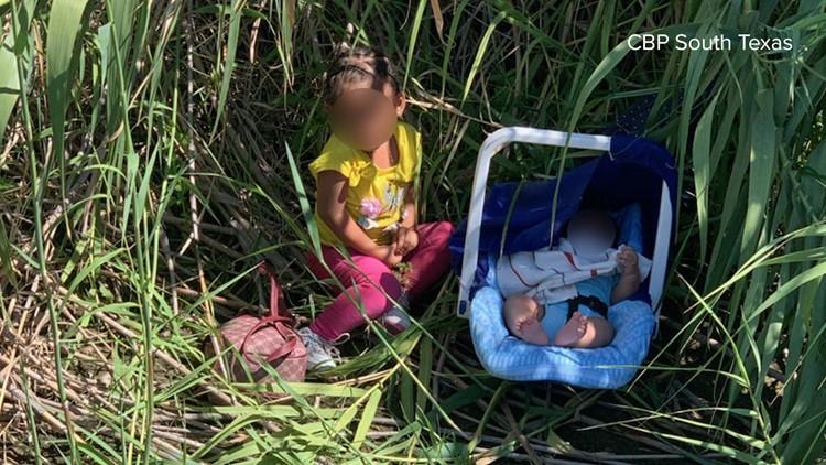 Border Patrol agents find 2 children abandoned on the Rio Grande riverbank