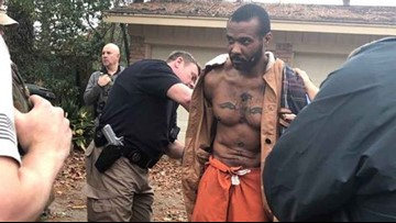 CAUGHT: Escaped Texas prisoner back in custody