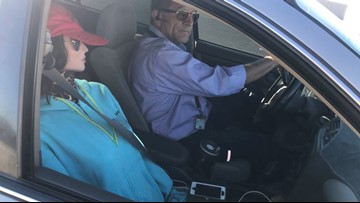 Driver caught using dummy as passenger to drive in the HOV lane
