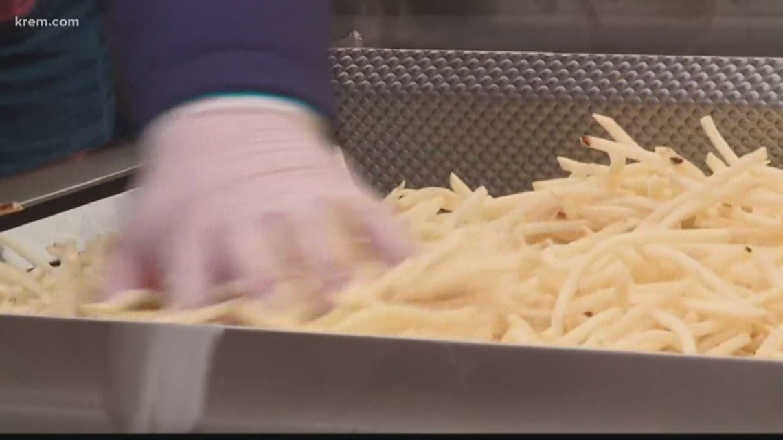 Is a bad potato harvest causing a french fry shortage?