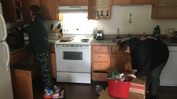 'It's a scary, scary situation':  Pregnant mother in Spokane evicted during COVID-19 outbreak