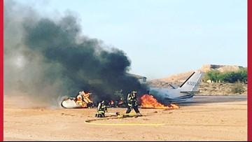Pilot accused of crashing plane after drinking liquor