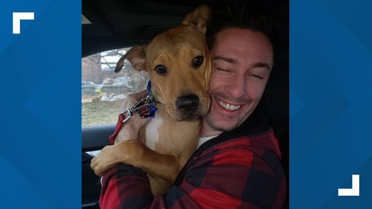 'He's going to get a lot of treats!' | Good Samaritan reunites with dog after car stolen