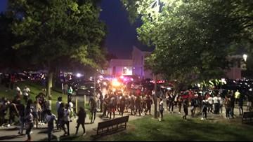 7-year-old, 3 teenagers shot after football jamboree
