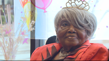 Help us wish Priscilla Boyle a happy 105th birthday!
