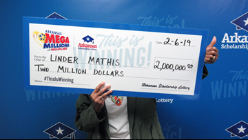 Woman becomes millionaire and grandmother on the same day