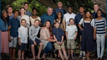 Family with 18 children is battling a devastating diagnosis and leaning on their faith