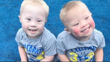 Twin boys with Down syndrome are an inspiration on social media
