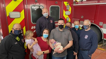 Baby born on front lawn with help from West Metro Fire crews