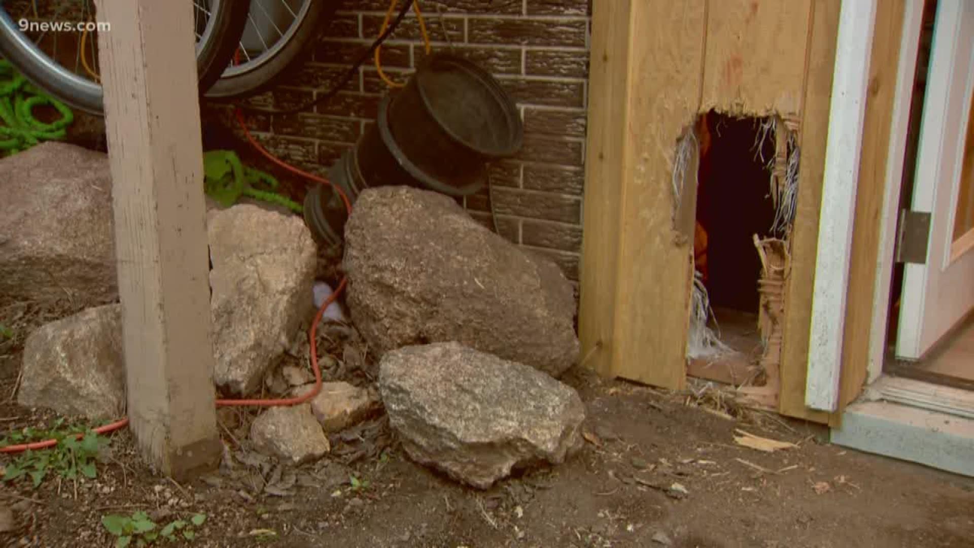 Bear breaks into house, leaves by breaking through wall ... Hey Kool Aid Videos Breaking Through Walls