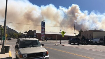 Decker Fire stands at 15% containment, reaches over 7,100 acres