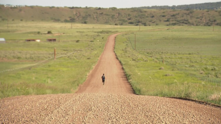 Cross-country runner goes the extra mile for a friend
