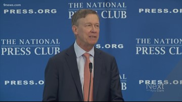 Hickenlooper officially ends presidential run, says he hasn't decided about running for Senate