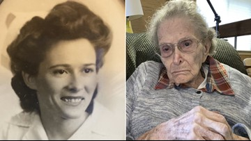 World War II nurse turns 100