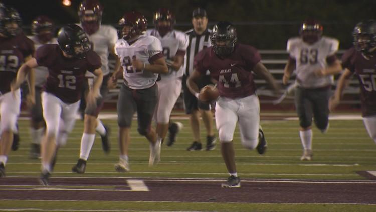 Lockhart's Desmond Pulliam, senior defensive lineman with autism spectrum disorder, scores first career touchdown