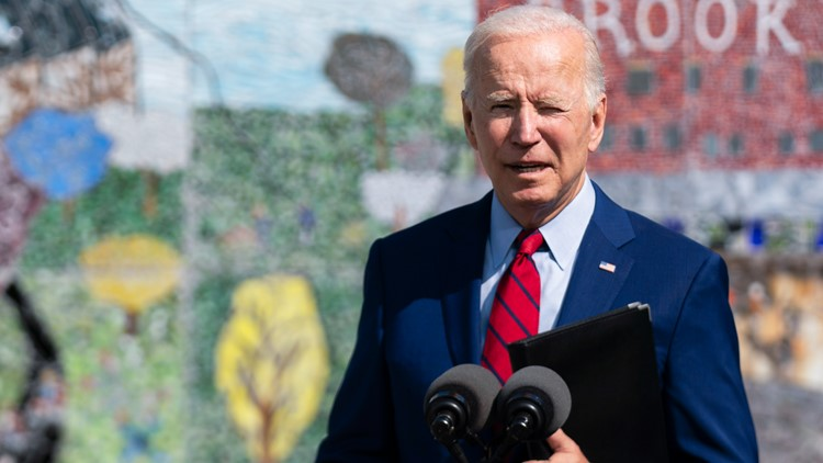 Biden points to wildfires 'supercharged' by climate change to push for big rebuild