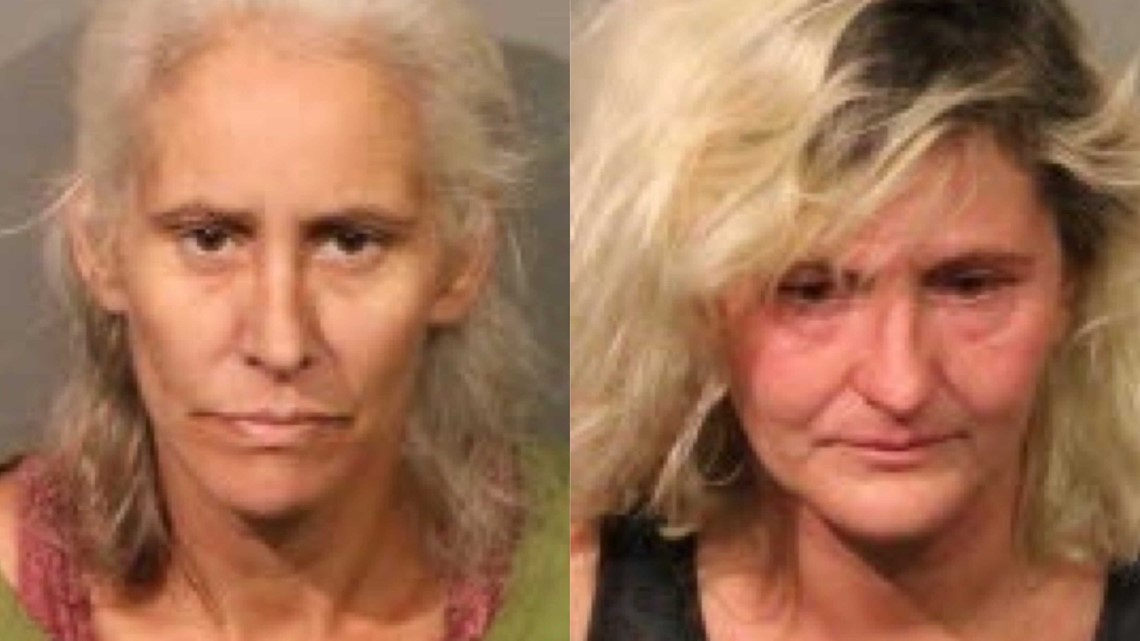 Women accused of abandoning 2 toddlers at fire station in California