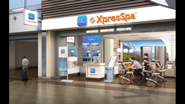 The XpresSpa at JFK Airport. (Photo courtesy of XpresSpa)