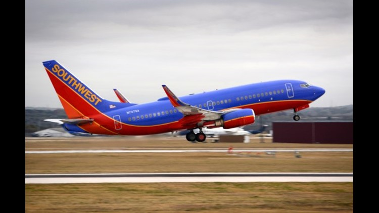 A Southwest Airlines Boeing 737 takes off from San Antonio International Airport. (Photo by Robert Alexander/Getty Images.)