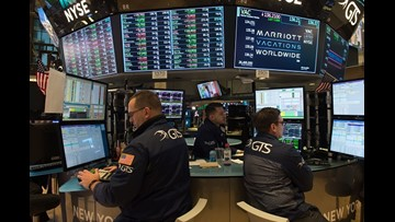 Dow closes above 26,000 for first time in its 121-year history