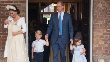Prince Louis' christening: Will, Kate, George and Charlotte lead the celebration