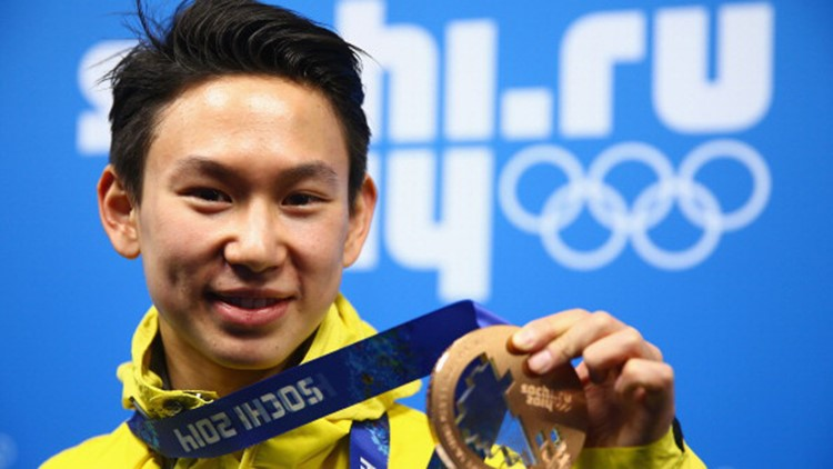 Denis Ten was the first figure skater from Kazakhstan to earn an Olympic medal.