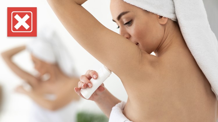 No, there's no evidence that aluminum-based antiperspirants or deodorants cause cancer